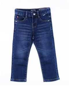 Pantalon tejano knit denim