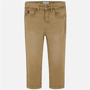 Pantalon soft slim fit
