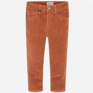 Pantalon pana slim fit basico