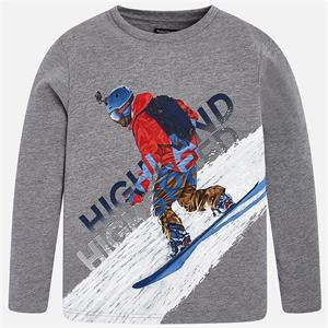 Camiseta ml snowboard