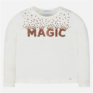 Camiseta ml magic lentejuela